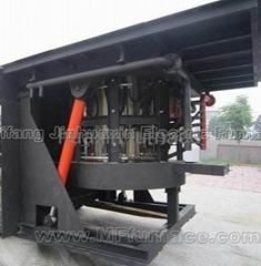 induction melting crucible furnace