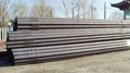 Seamless steel pipe for machinical structure