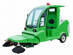 electric sweeper tricycle