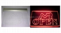 Open Acrylic Led Sign