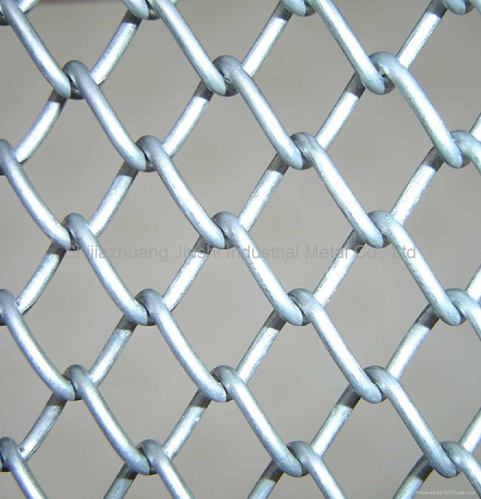 Chain link fence|lattic wire mesh fence|Diamond mesh - 004 - JINSHI ...
