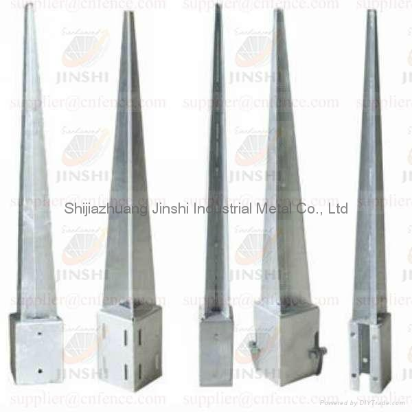 Charmant Galvanized Metal Post Spike For Garden Post Support 1 ...