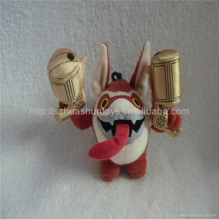小龙斯派罗毛绒玩具 3