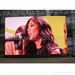 LED Screen Rental use in Stage