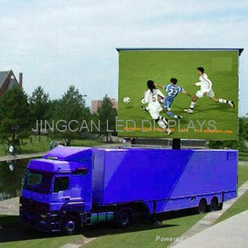 Mobile stage led displays truck - JC-FOS-P10 - JC (China