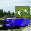 Mobile stage led displays truck