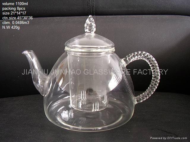 PYREX Glass TeaPot 1
