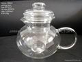 PYREX Glass TeaPot