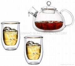 PYREX Glass Tea Set