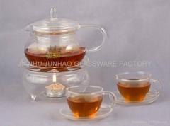 Borosilicate Glass Tea Set