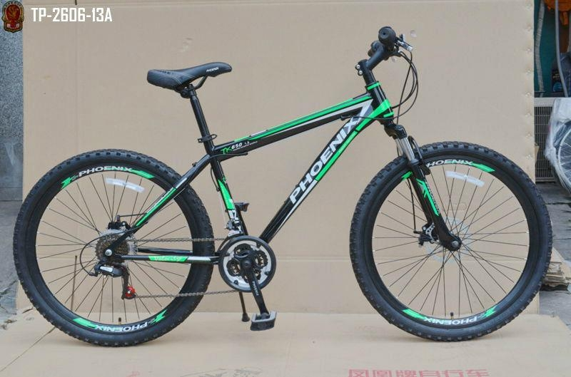 26 Quot X1 95 Steel Frame 18 Speed Phoenix Mountain Bike Tp