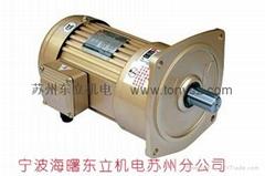 台湾永坤立式安装减速电机