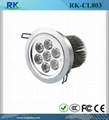 LED Downlight LED Indoor Light  LED Spot Lamp LED Ceiling Light 7W
