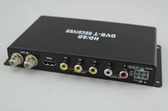DVBT高清车载数字电视接收盒