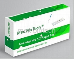 one-step accurate HIV whole blood rapid test