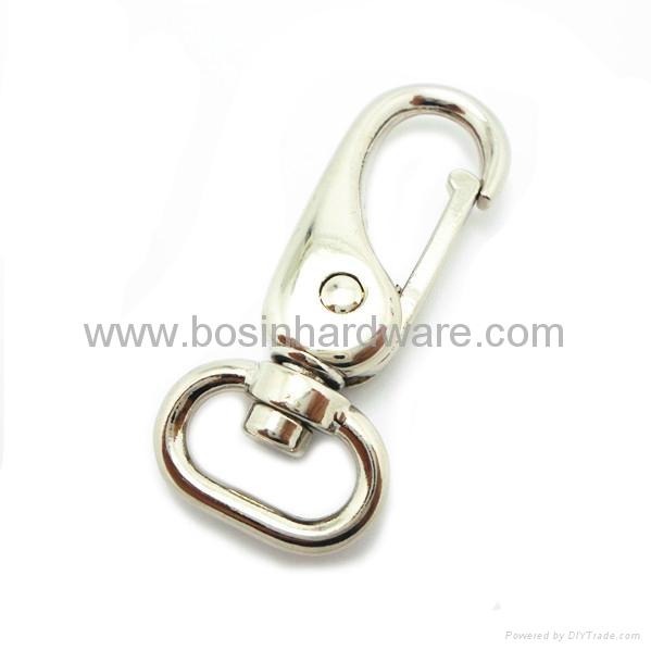 Fashion hot selling metal swivel hook 4