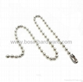 Fashion high quality metal ball chain 1