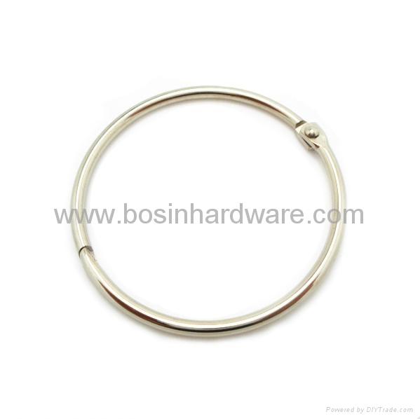 Fashion high quality metal binder ring 1