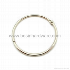 Fashion high quality metal binder ring