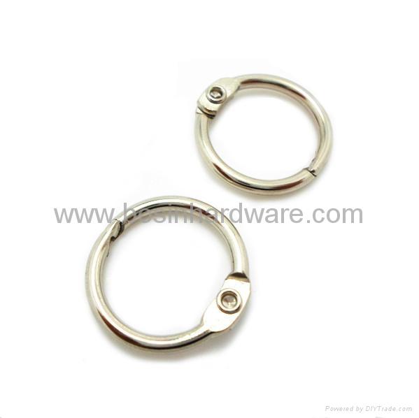 Fashion high quality metal binder ring 2