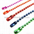 Fashion metal colored ball bead chain