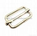 Fashion metal adjustable square ring