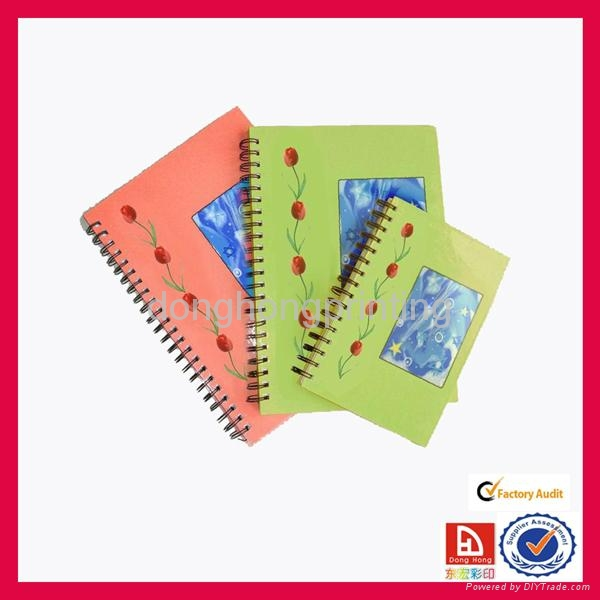 OEM spiral notebook with high quality 1