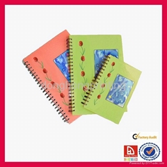 OEM spiral notebook with high quality