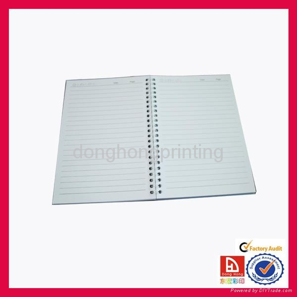 OEM spiral notebook with high quality 3