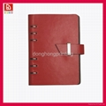 OEM leather cover notebook from donghong