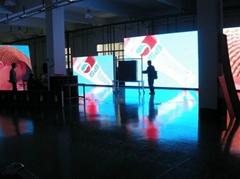 陝西浩博P20戶外全彩LED顯示屏