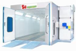 Spray booth 1