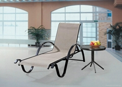 mesh chair mesh lounger mesh fabric sun lounger Textile mesh furniture