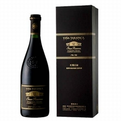 智利紅蔓莊園黑牌特級珍藏紅葡萄酒紙板盒裝