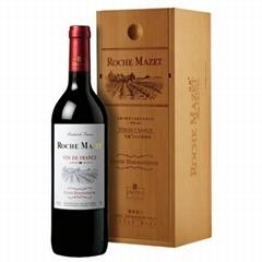 法國瑪茜波爾多佳釀紅葡萄酒木盒裝750ml