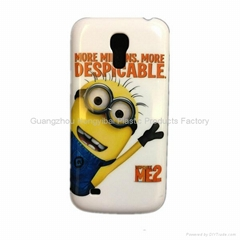 Hard plastic phone case for samsung galaxy s4 mini i9190 despicable me case