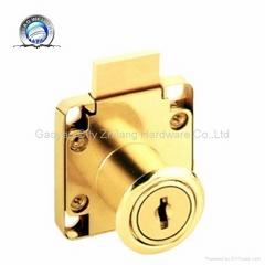 138-22 zinc alloy gold drawer lock