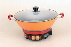 齐添乐铸铁电炒锅