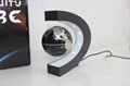 magnetic electric floating globe for home decoration