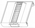 2' X 2' center louver recessed indirect