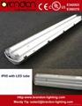 Vaporproof IP65 LED tube fixture