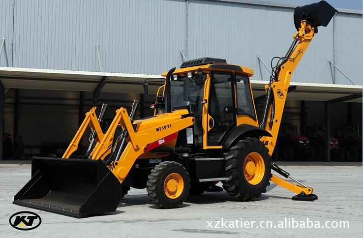 3吨挖掘装载机 1
