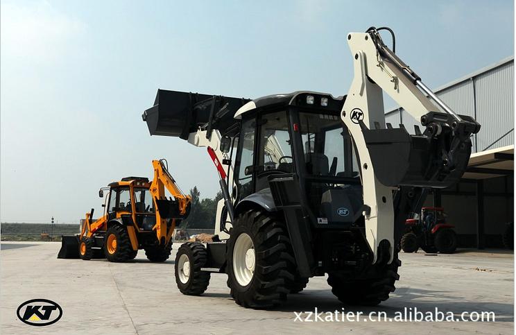 3吨挖掘装载机 2