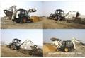 3吨挖掘装载机 3