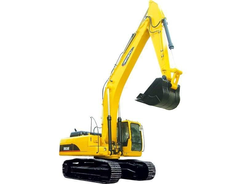 6吨履带式小型液压挖掘机 1