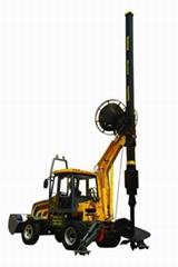 20米自重钻进型轮胎式旋挖钻