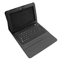removable Bluetooth Keyboard Leather Handbag Case For Samsung Galaxy Note N8000