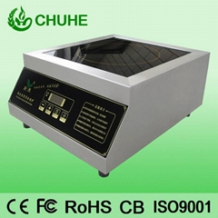 3500W commercial induction cooker for restaurant kitchen
