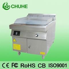 Western kitchen equipment induction griddle machine