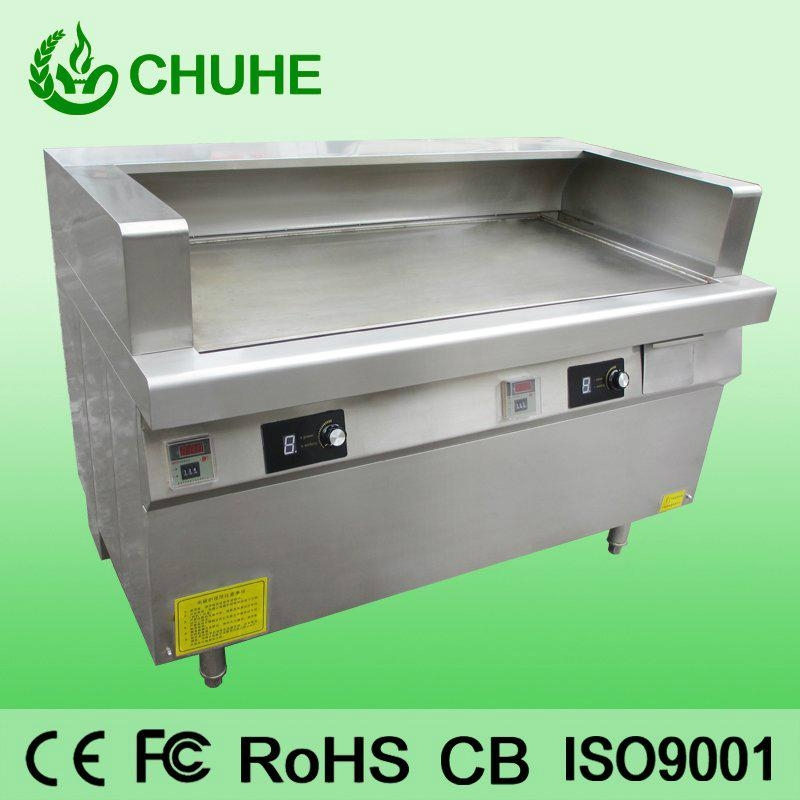 Western Kitchen Equipment Induction Griddle Machine Ch 8pl Chuhe China Manufacturer